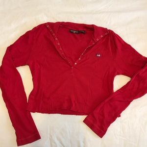 Polo Jeans Co. cropped long sleeve
